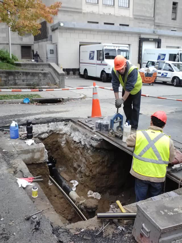 Con Edison workers will continue their work to repair service lines in Greenburgh for the next four to six weeks.