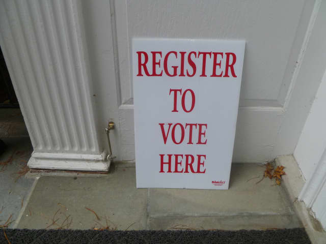 Voter registration continues -- but the deadline is May 17.