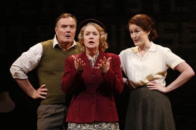 Sean Cullen (George), Deirdre Madigan (Peggy) and Brenda Meaney (Helen).