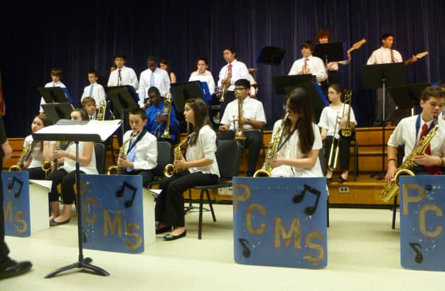 The Westchester County School Music Association named Port Chester Middle School Principal Patrick Swift as its Administrator of the Year thanks to his support of the PCMS Band.