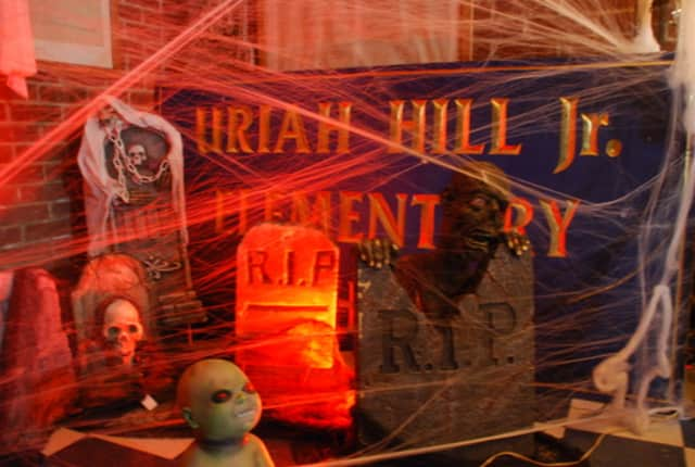 The Uriah Hill haunted schoolhouse will run until Saturday night.