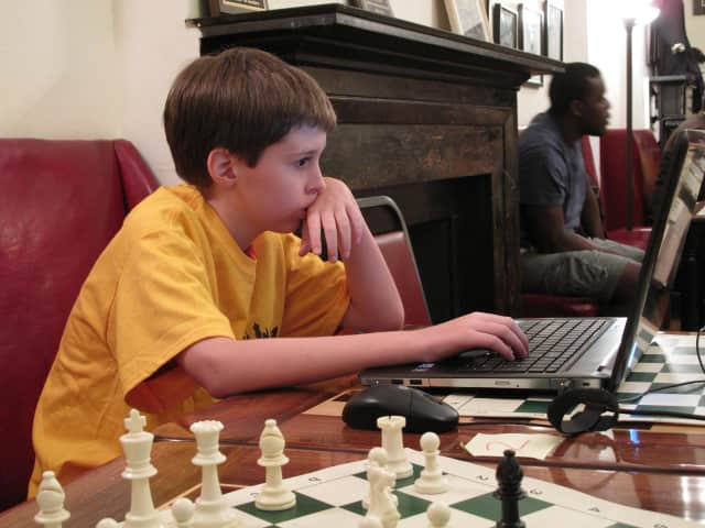 Nicholas Checa, a Dobbs Ferry fifth-grader, was named to the U.S. Chess Federation's 2013 All-American Team last week.