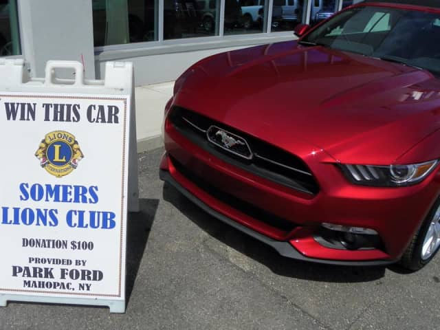 Purchase tickets now for the for the 2015 Somers Lion Club Charity Car Raffle.