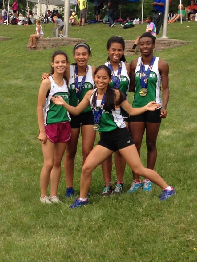Five student-athletes from Irvington High School recently traveled to the New York State Track and Field Championships in Albany.