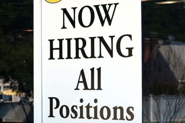 There are several jobs available, including a sales executive post in Harrison.