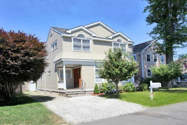 The home at 16 Fairfield Ave. in Westport recently sold for $1.7 million.
