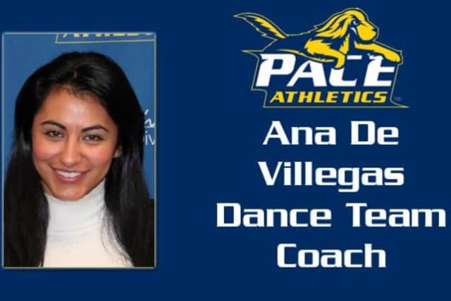 Pace has hired Ana De Villegas as its new Dance Team Coach, effective immediately.
