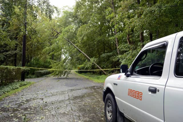 The hurricane may cause power outages and fallen trees in North Salem.
