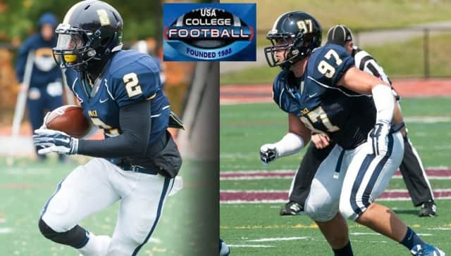 enior defensive lineman Tyler Owens (R) and senior defensive back Jamir Gee (L) were both named to the Preseason All-American Second Team by USA Football.