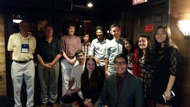 The Kiwanis & Key Clubs of Greater Danbury recently had their annual meeting at Chuck's Steak House in Danbury.