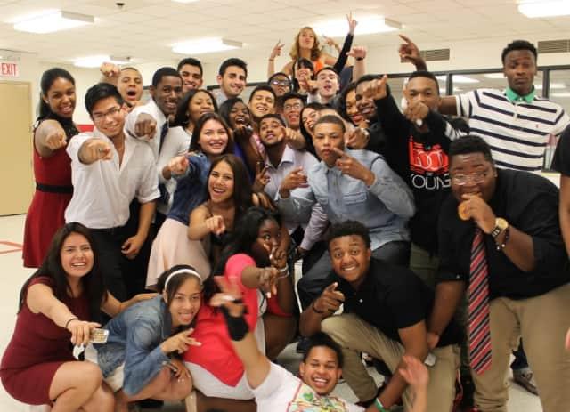 Alexander Hamilton Jr./Sr. High School celebrated its senior graduation on June 24 at the Westchester Broadway Theater.