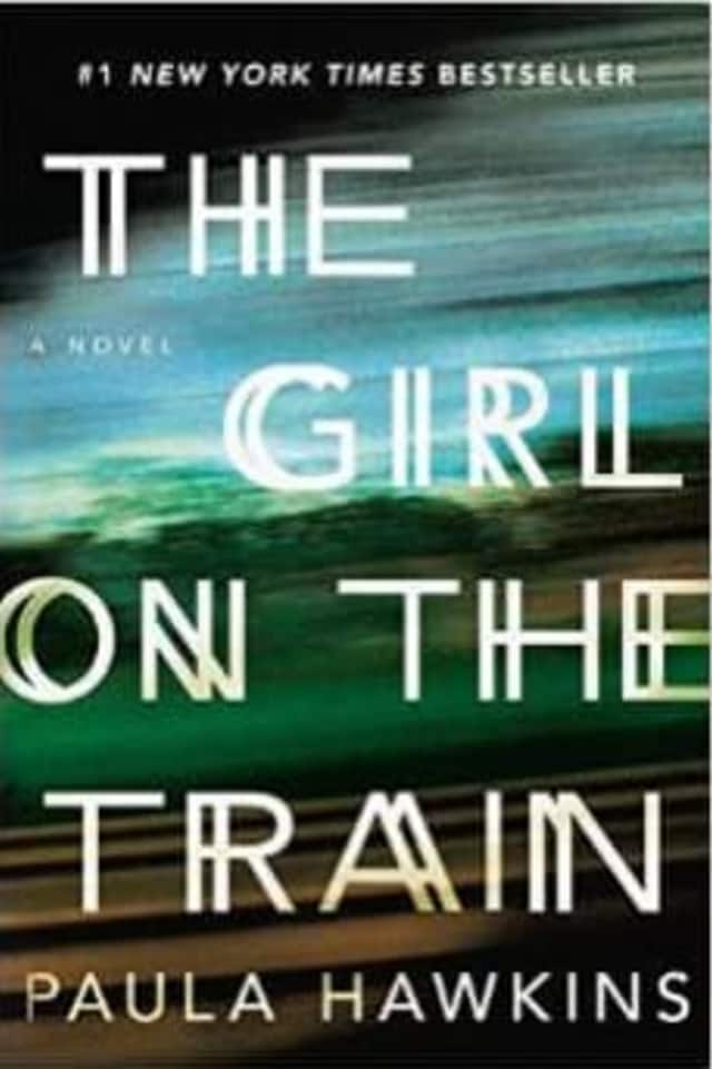 """""""The Girl On The Train"""" is the most popular book in Pound Ridge."""