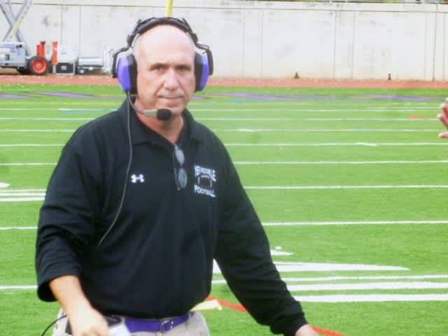 New Rochelle coach Lou DiRienzo.