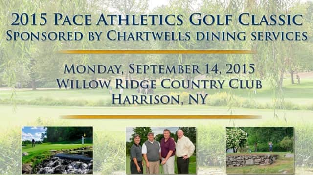 The Pace Athletics Golf Classic will be Sept. 14 at Willow Ridge Country Club.