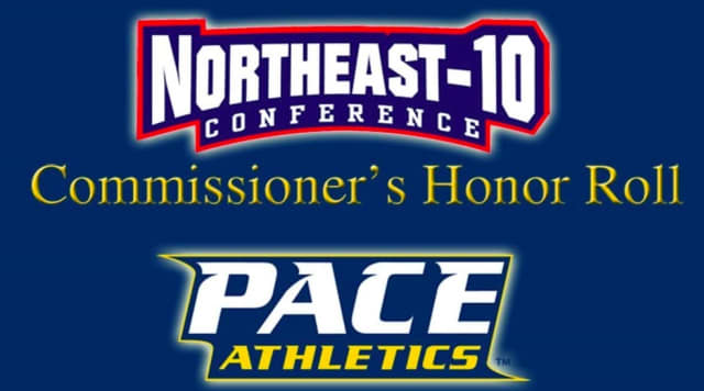 Pace had 191 student-athletes named to the NE-10 Commissioner's Honor Roll this spring.