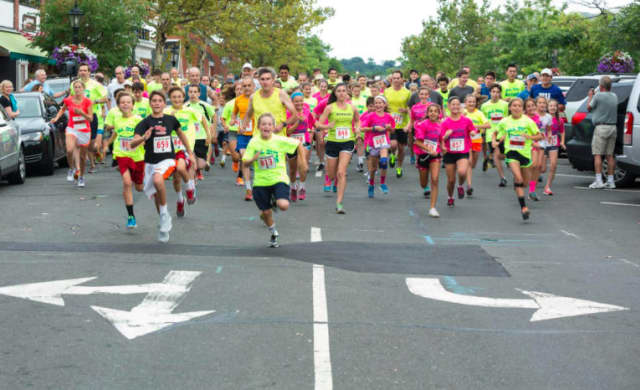 The seventh annual All Out for Autism 5K/Walk/Run will take place Aug. 21 in New Canaan.