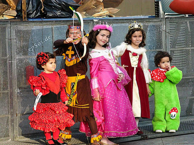 Ghoulies and ghosties and long-leggedy beasties will parade in Port Chester on Wednesday at the city's Halloween in the Park event.