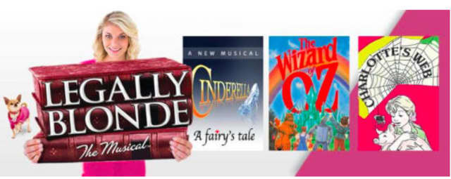 """The Summer Theatre of New Canaan includes """"Legally Blonde,"""" """"Cinderella, A Fairy's Tale,"""" """"The Wizard of Oz"""" and """"Charlotte's Web"""" in its show schedule this summer."""