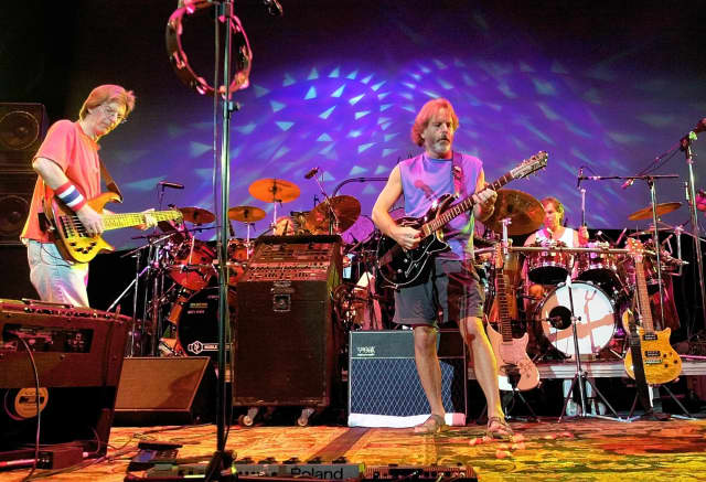 """Fare Thee Well: Celebrating 50 Years of Grateful Dead"" will be simulcast July 3 at Ridgefield Playhouse."