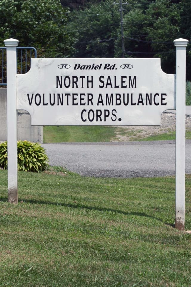 The North Salem Ambulance Corps. will open as an emergency shelter on Monday morning.