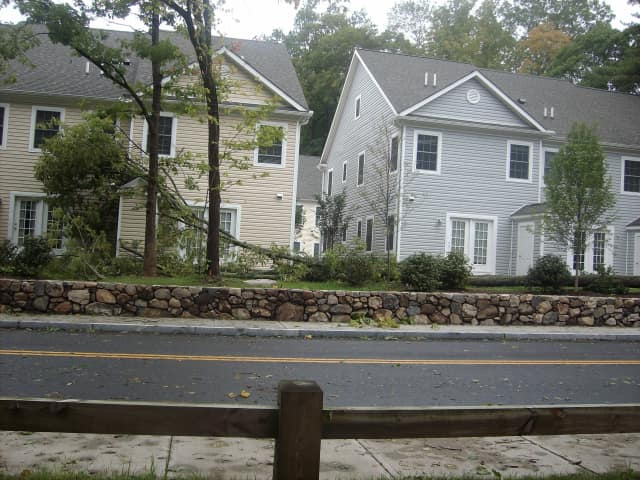 If you see any photos of damage from Hurricane Sandy in New Canaan, send them to us.