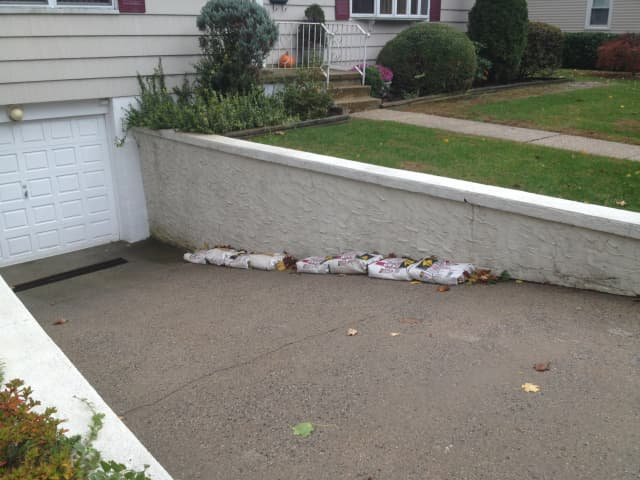 Eastchester residents are ready for the worst with Hurricane Sandy approaching.