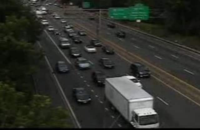 Traffic is moving well on I-95 along the Westchester/Fairfield border.