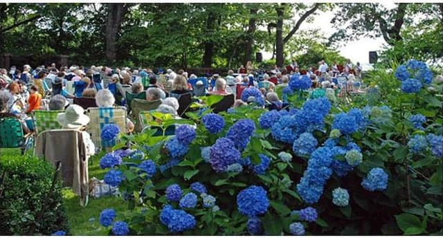 The concert series takes place in Seaside Garden, but will be moved to the Old Greenwich-Riverside Civic Center in case of rain.