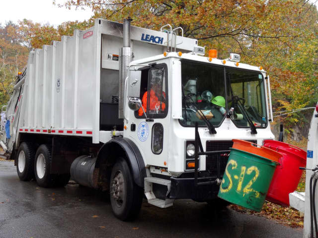 The Department of Public Works is working overtime to cleanup from Hurricane Sandy.