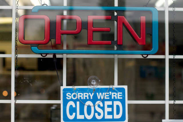Some Mount Kisco businesses reopened Wednesday following Hurricane Sandy.