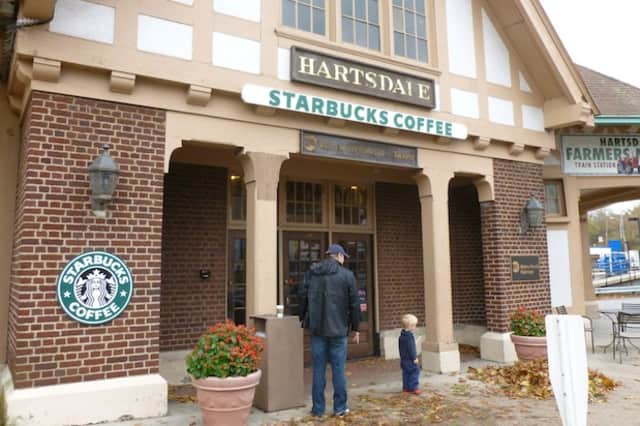 The Starbucks in Hartsdale is one of few places in the area offering WiFi access.