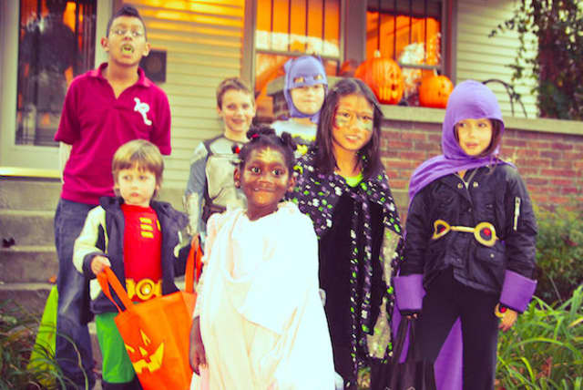 Despite Hurricane Sandy's damages, trick-or-treating has not been postponed in Greenburgh or Elmsford.