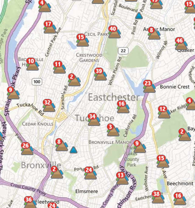 While Tuckahoe nearly has power restored, many Eastchester customers remain in the dark.