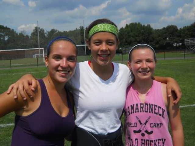Rye Neck senior captains, from left, Nickole Morgan, Elena Hurlbut and Athena Nathan, have led the Panthers to their first league title since 1998 and a 12-3-1 record.