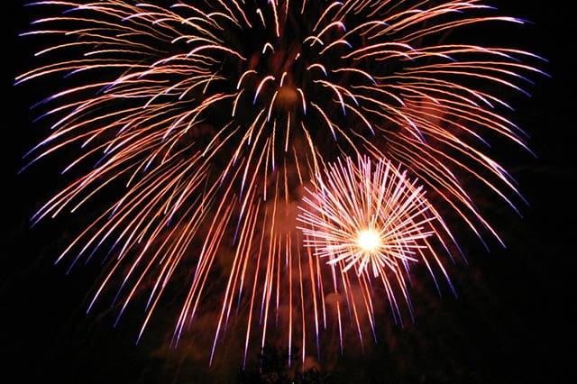 The Town of Lewisboro's fireworks have been delayed by weather until June 30.