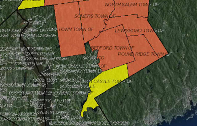 More than 28,637 customers out of 32,524 total customers served by NYSEG in Westchester are out of power as of Thursday morning.