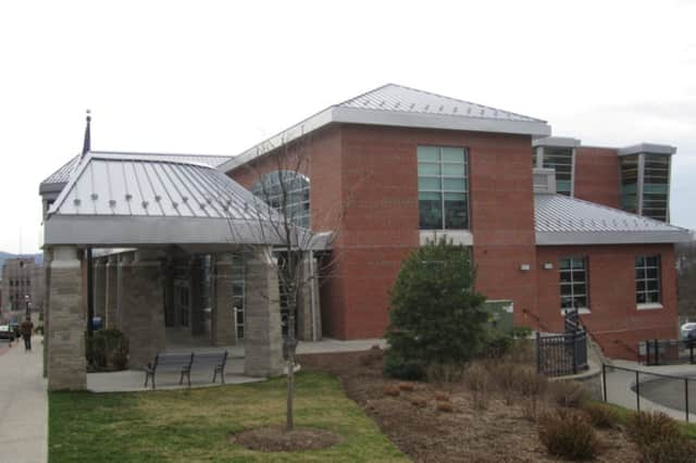 The Ossining Public Library opened Thursday after Hurricane Sandy.