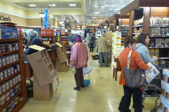 More than 10,000 people have been in the Harrison DeCicco's before and after Hurricane Sandy, according to the store manager.