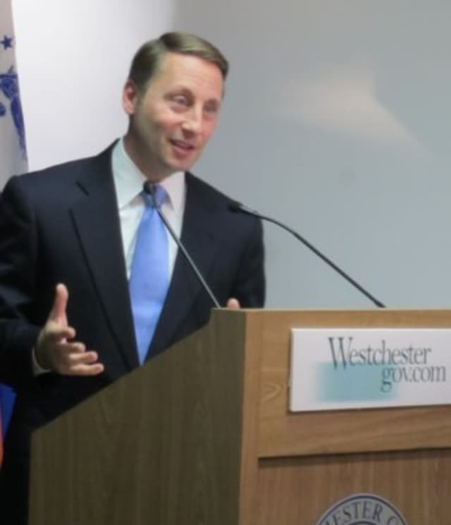 A spokesman for Westchester County Executive Robert Astorino has said there are no plans to ban firearms and gun shows at county-owned buildings.