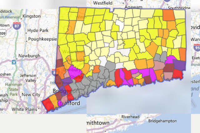 More than 167,000 customers out of 1,240,246 total customers served by CL&P are out of power across Connecticut.