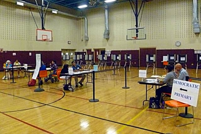 Polling stations at Yanity Gym, East Ridge and Scotts Ridge Middle Schools in Ridgefield are expected to be ready and open in time for Election Day next Tuesday.