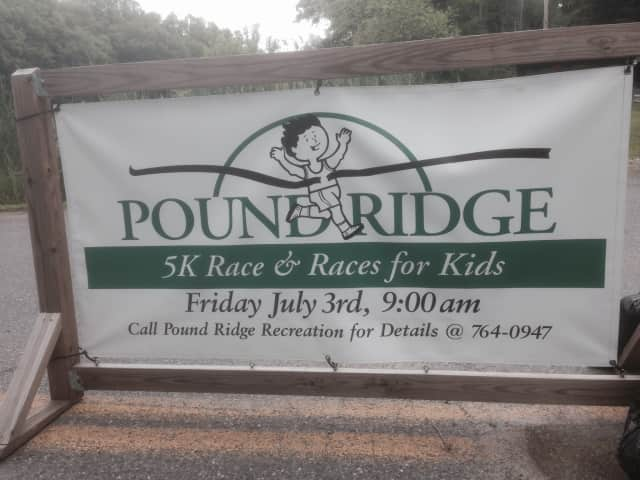 Pound Ridge will host a 5k and kids races on Friday, July 3.