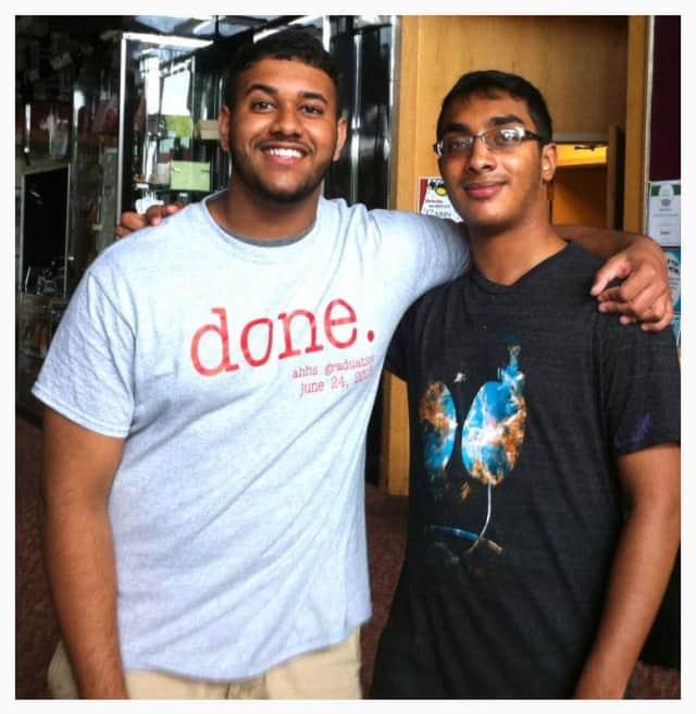 Alexander Hamilton High School's valedictorian and salutatorian Shawn Kuruvila and Isaac Alexander look forward to college and beyond.