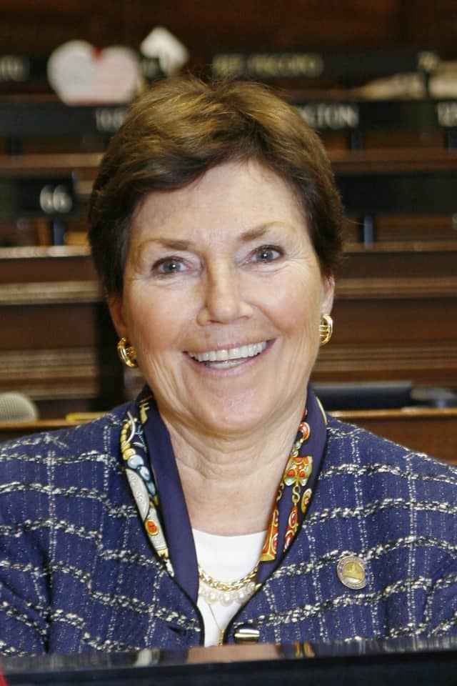 State Reps. Livvy Floren (pictured), Mike Bocchino and Fred Camillo are strongly opposing Gov. Malloy's budget proposal, which would negate all of Greenwich's ECS funds.