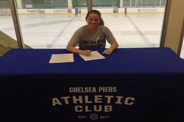 Sam Faber, Youth Hockey Director at Chelsea Piers Connecticut in Stamford, is the first publically announced player for the newly formed CT Whale.