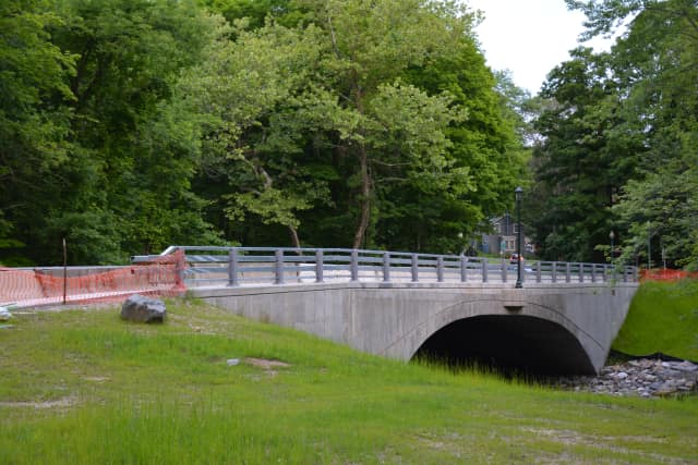 The Croton Falls Road bridge.