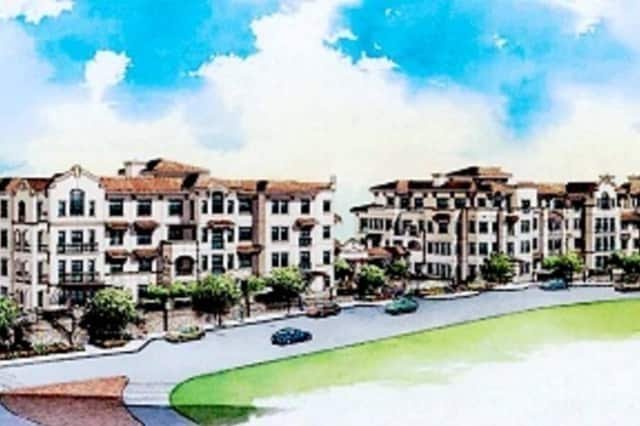 An artist's rendering of the proposed Kensington Road condominium site.
