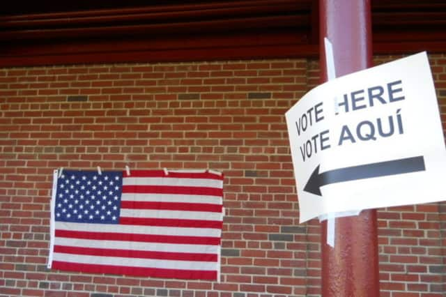 Damage from Hurricane Sandy was not enough to close any of Yorktown's polling locations.