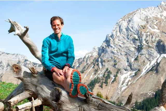 Jennifer Pharr Davis hiked the 2,181-mile Appalachian Trail in 2011.