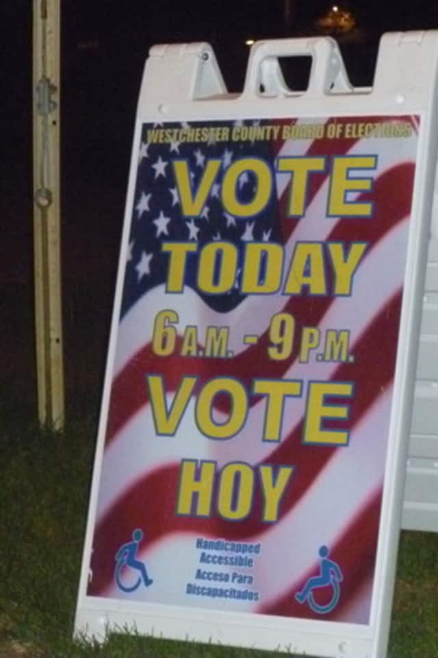 Port Chester residents will vote on Election Day.
